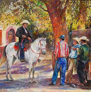 the-white-horse-of-alamos-36x36