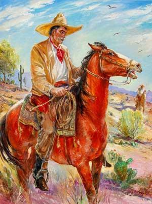 the-horseman-48x36